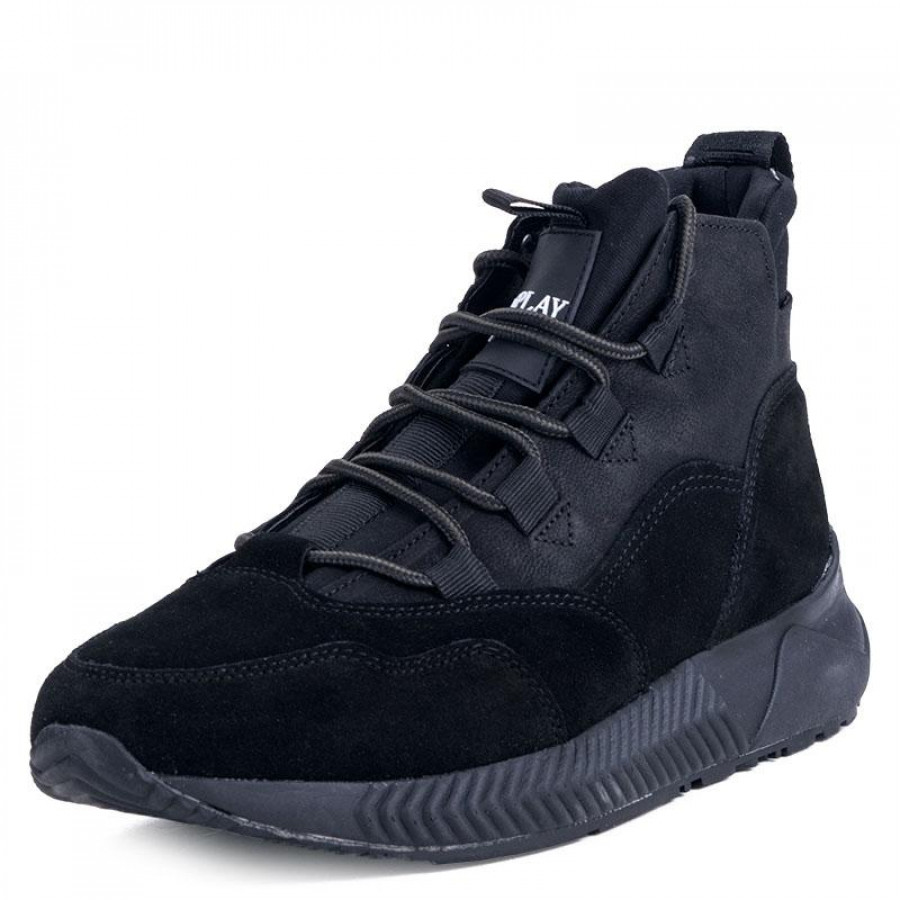f14e1b54baf Ανδρικά Μποτάκια ReplayRS830001L Black | E-SHOES.GR
