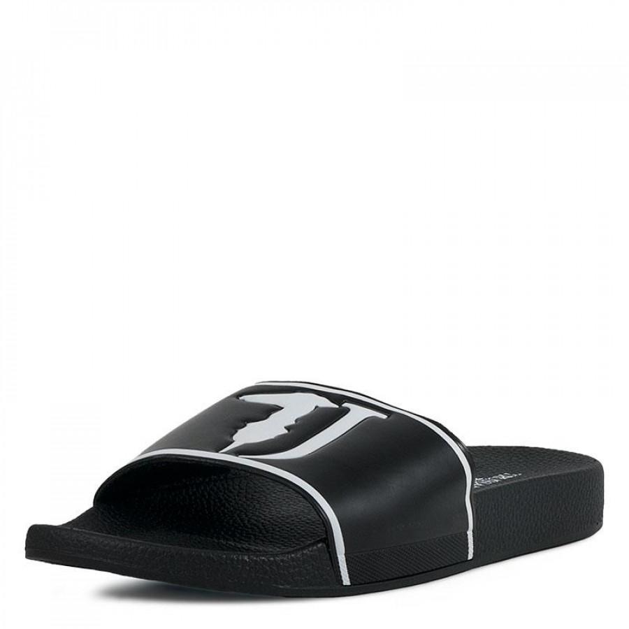 6c8edb5e9c0 Ανδρικές Παντόφλες Trussardi Jeans77A00159 Black   E-SHOES.GR