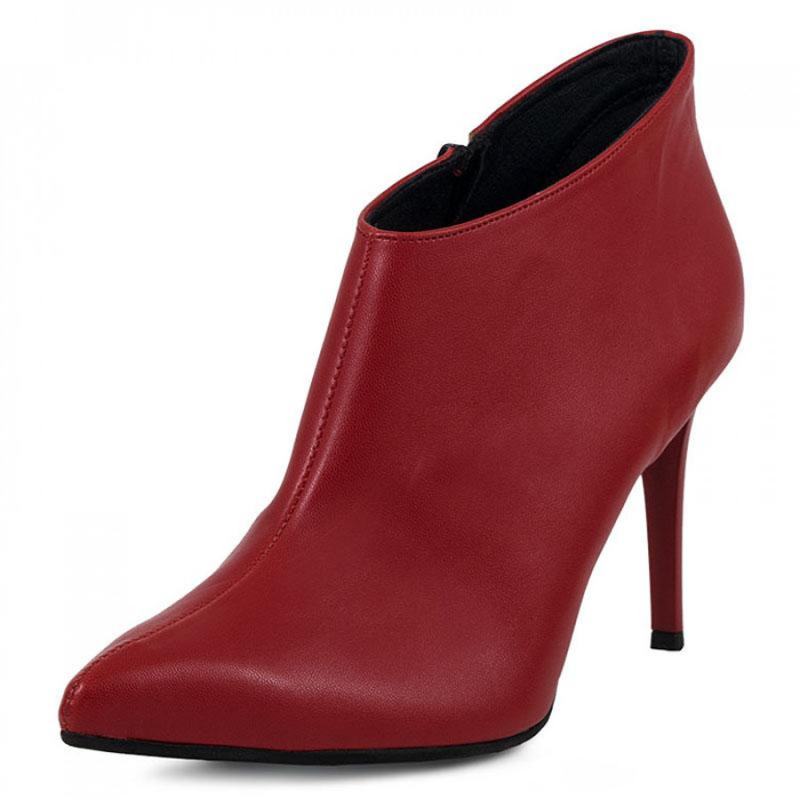 a7981f6641c7 Γυναικεία Μποτάκια Just PriveJP1700 Red | E-SHOES.GR