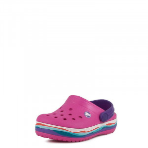Crocband Wavy Band Clog K Crocs