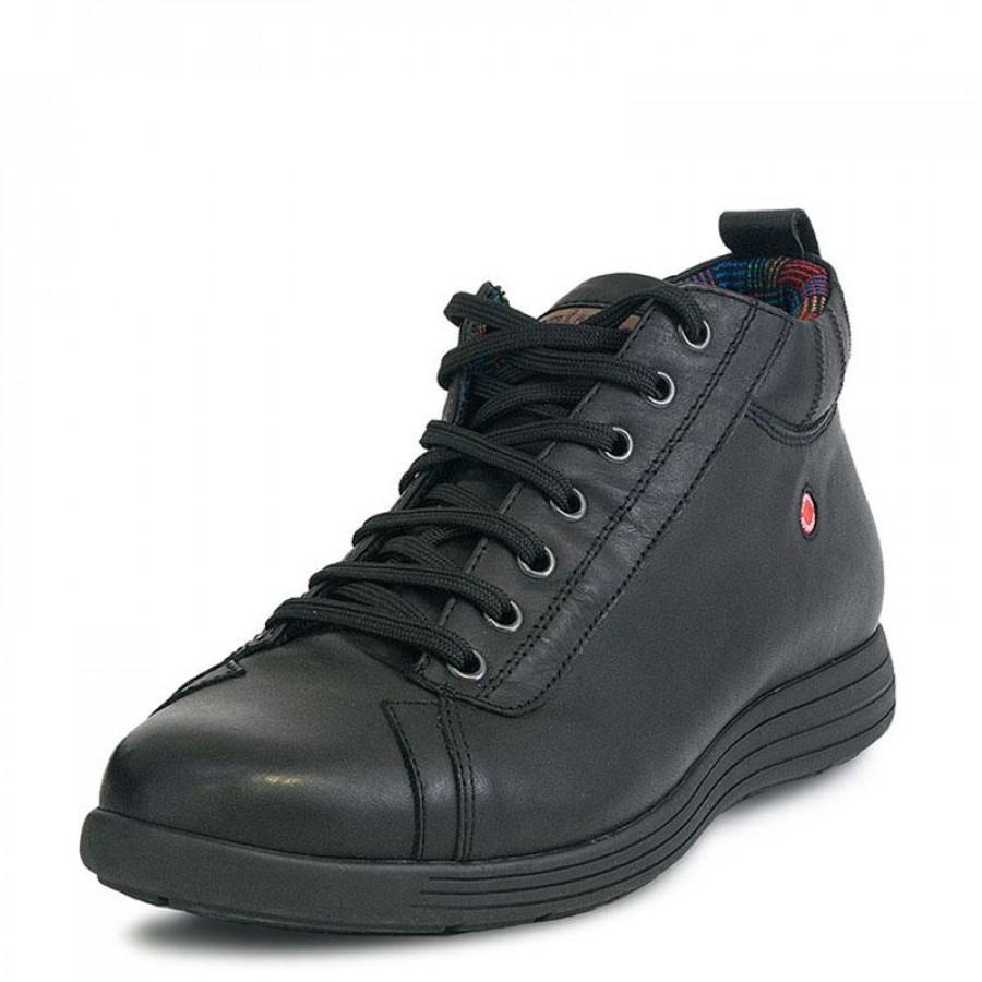 bd6d3aac0c4 Ανδρικά Μποτάκια RobinsonR1648 Black   E-SHOES.GR