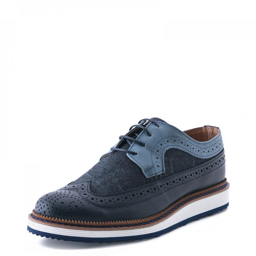 252a0d99492 Ανδρικά Oxford FentiniF008420 Blue | E-SHOES.GR