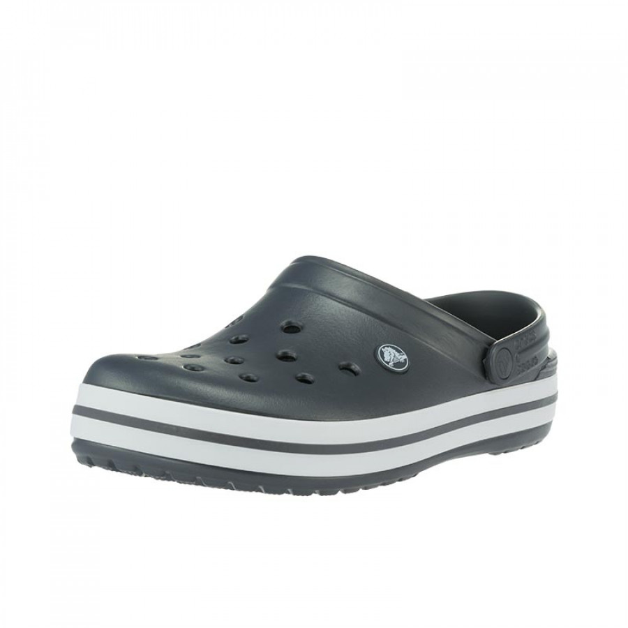 bb31c657bee Ανδρικά Σαμπό Crocs Crocband Graphite Relaxed Fit | E-SHOES.GR