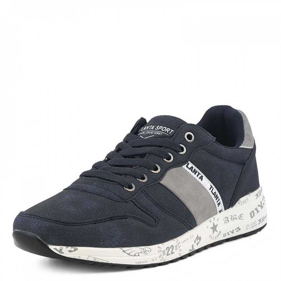 Ανδρικά Sneakers Atlanta705089-3 Blue  fa02ae0ac2e
