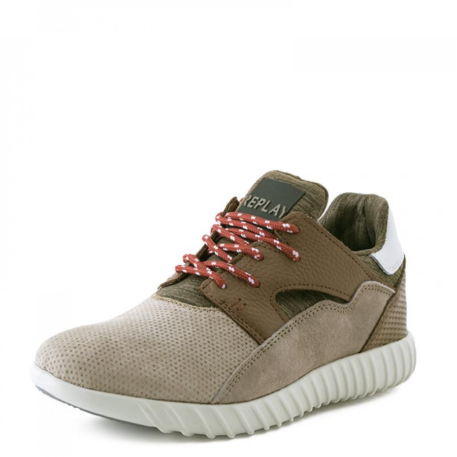 c5f3dfb34a8 Ανδρικά Sneakers Replay FormatRS410006L Taupe | E-SHOES.GR