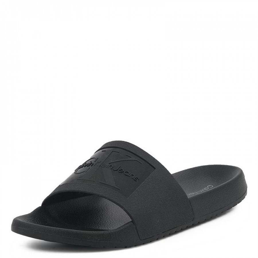 88d04498d6c Ανδρικές Παντόφλες Calvin Klein VincenzoS0547 Black | E-SHOES.GR