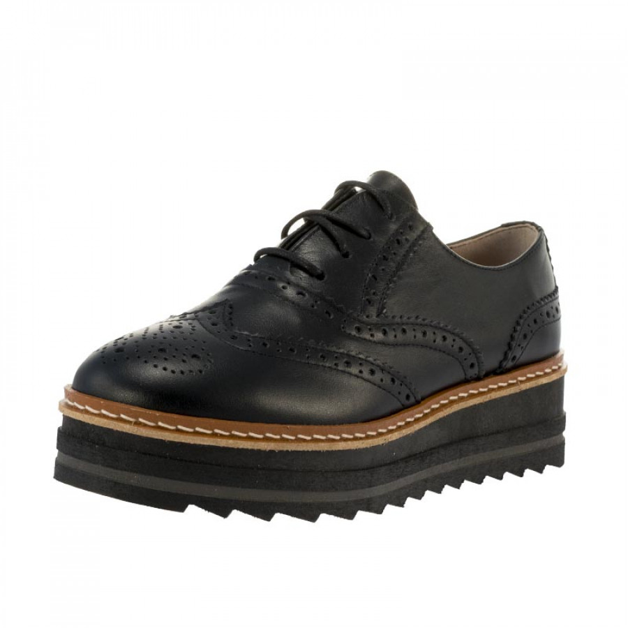 Γυναικεία Oxford Divide9240 Black  c3365699f36