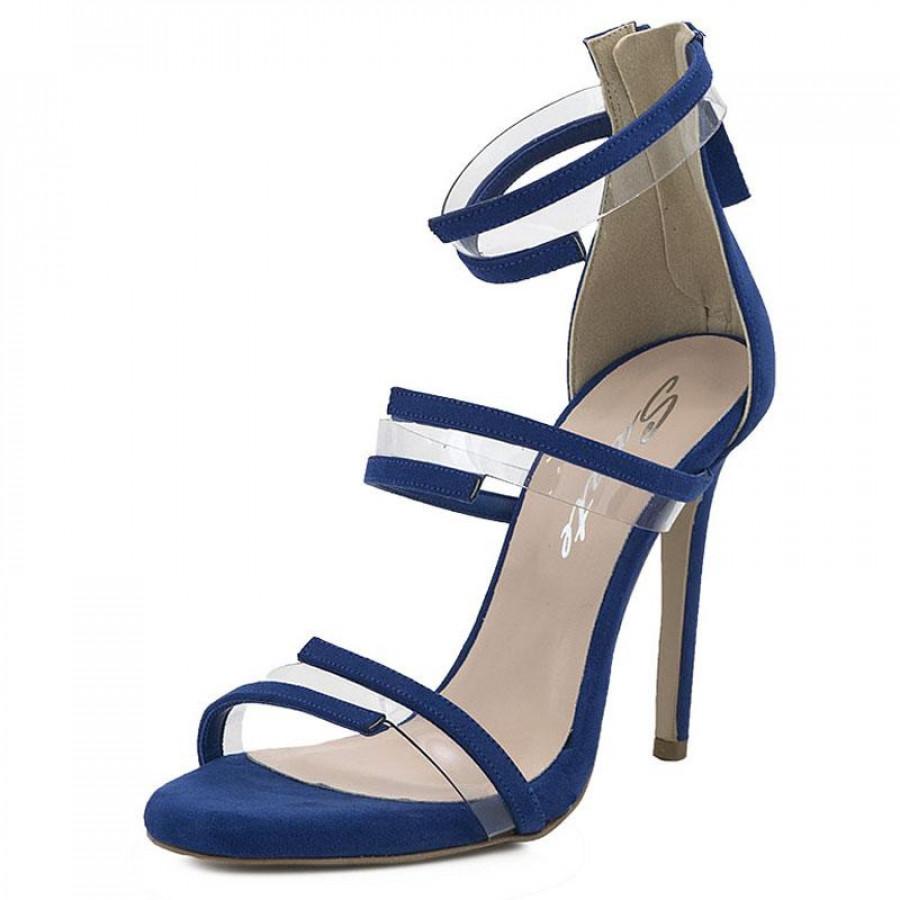 10301abb7e53 Γυναικεία Πέδιλα Sante99681 Blue | E-SHOES.GR