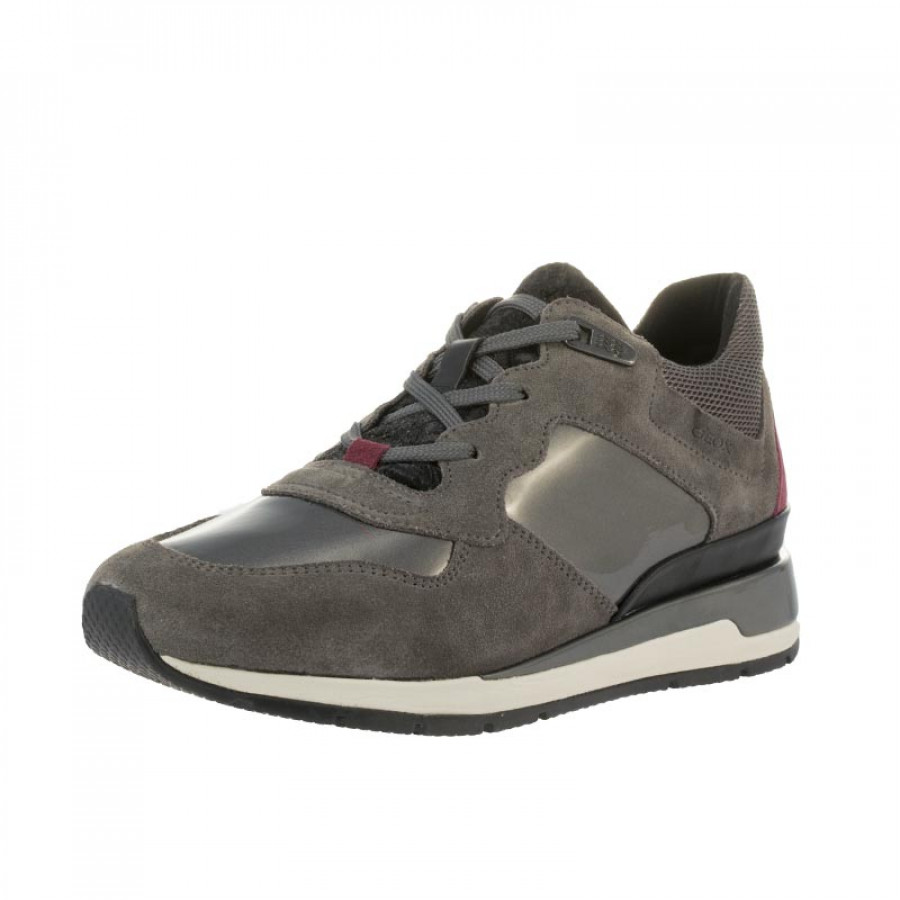 cd9bf1915c6 Γυναικεία Sneakers Geox D DASHIRA A-D44N1A Ανθρακί | E-SHOES.GR