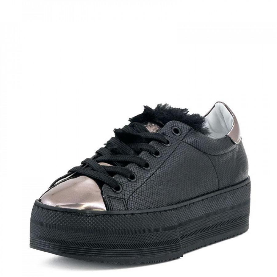 058d28ac7f3 Γυναικεία Sneakers Grumman97021 Black | E-SHOES.GR
