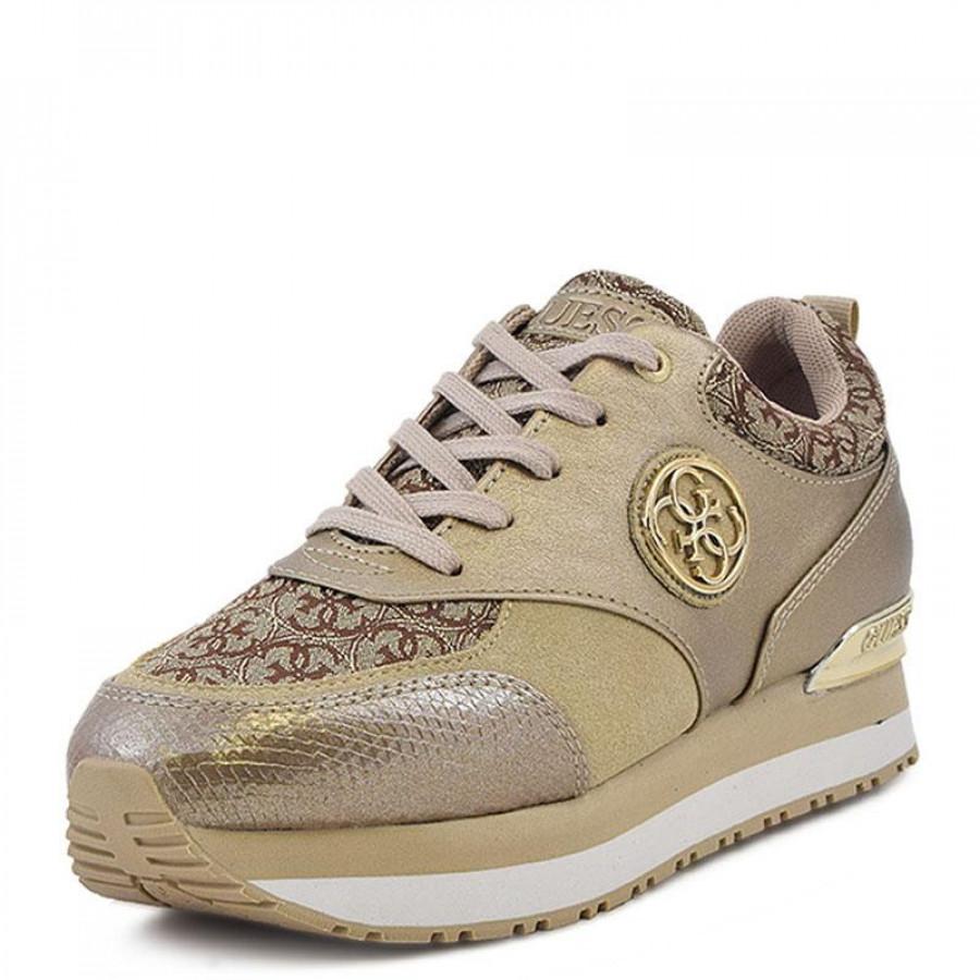 Γυναικεία Sneakers Guess RimmaFLRMM1 ELE12 Gold  878499caef3