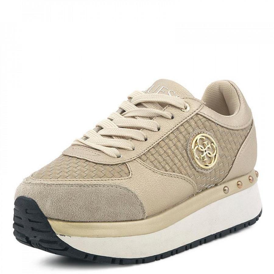 Γυναικεία Sneakers Guess TiffanyFLTIF1 Gold  bbeea03493d