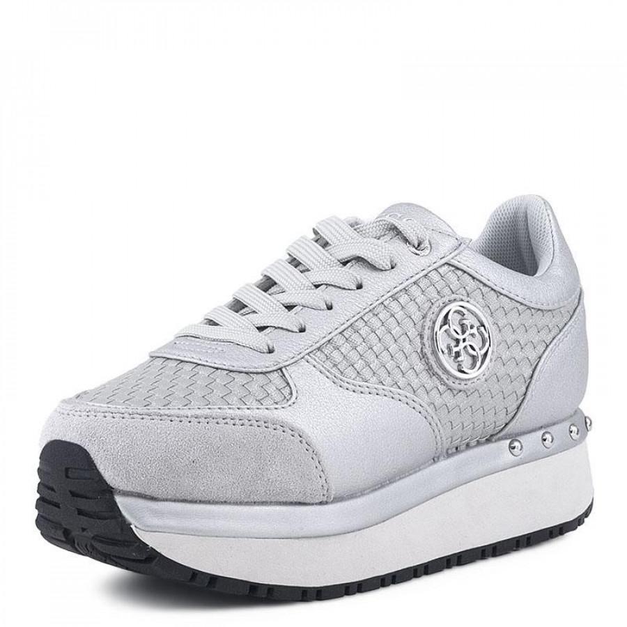 Γυναικεία Sneakers Guess TiffanyFLTIF1 Silver  0e03dd05061