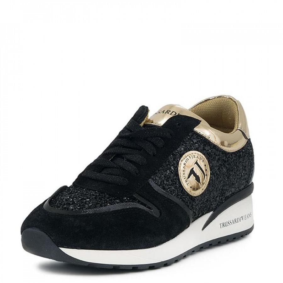 Γυναικεία Sneakers Trussardi Jeans79A086 Black  bb440e28208