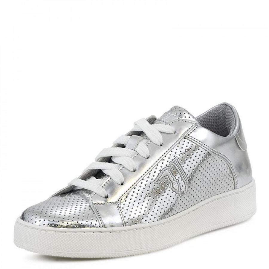 Γυναικεία Sneakers Trussardi Jeans79A00221 Silver  fa654da365c