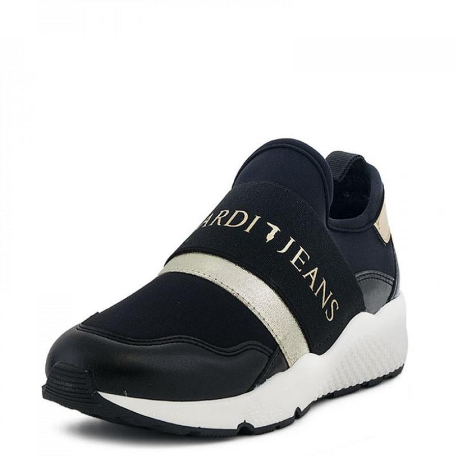 Γυναικεία Sneakers Trussardi Jeans79A090 Black  06d3fe5c2cd