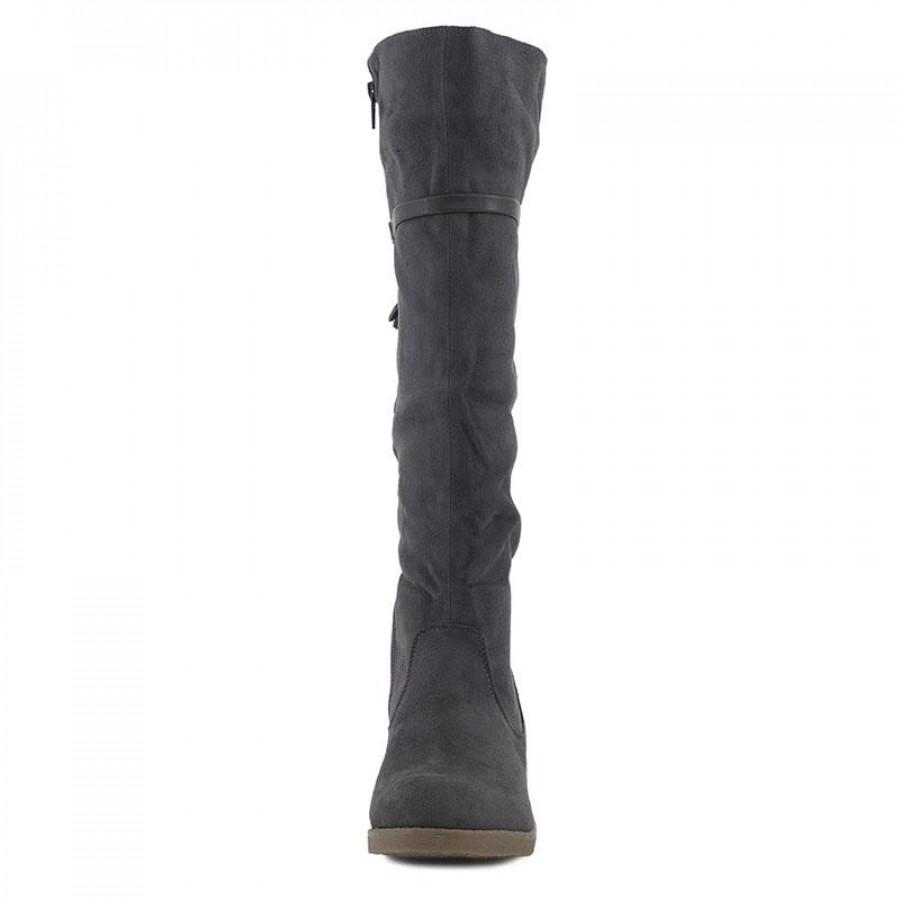 8b771ba5d30 Γυναικείες Μπότες La CoquetteB084-32A Grey | E-SHOES.GR