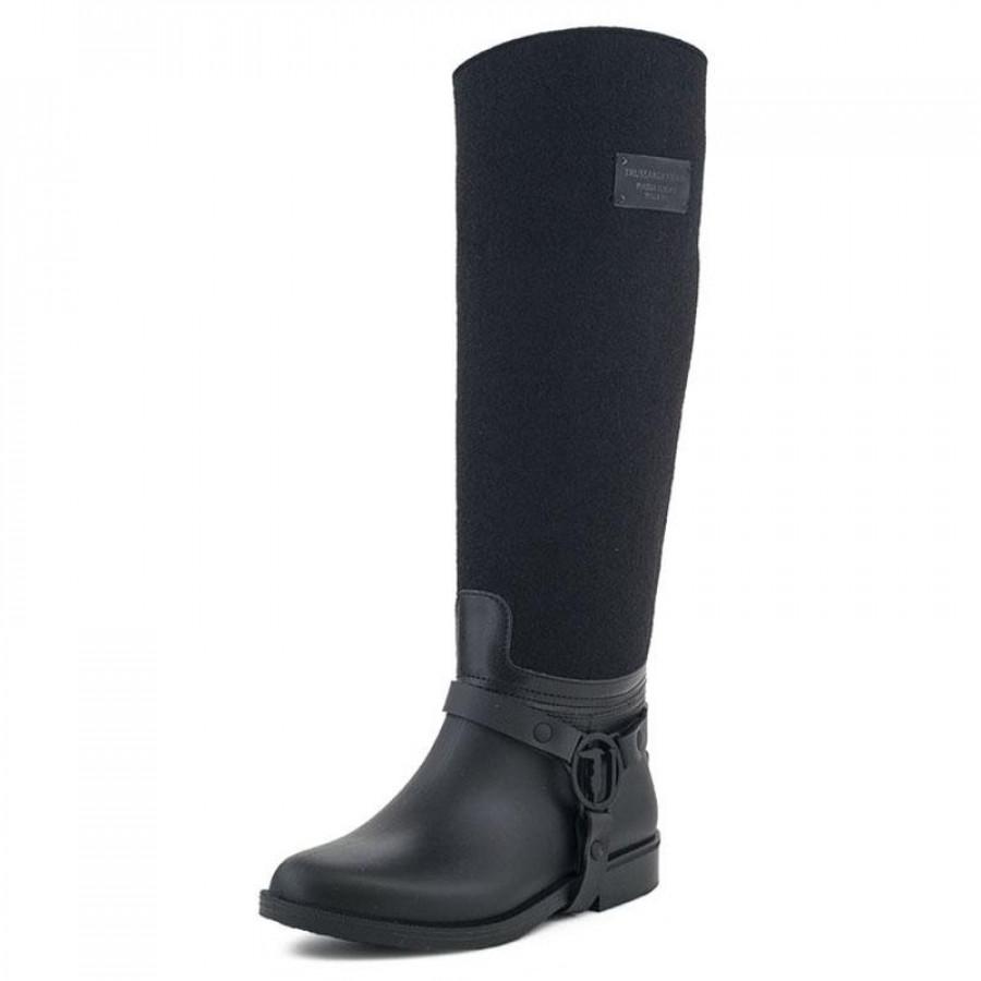 Γυναικείες Μπότες Trussardi Jeans79A095 Black  13e416ecec2