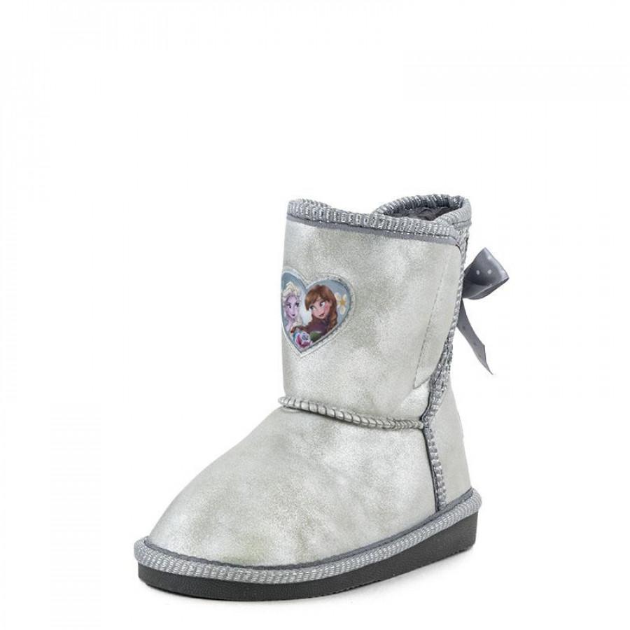 Παιδικά Μποτάκια Frozen42017507 30-34 Silver  1306a0eda1c