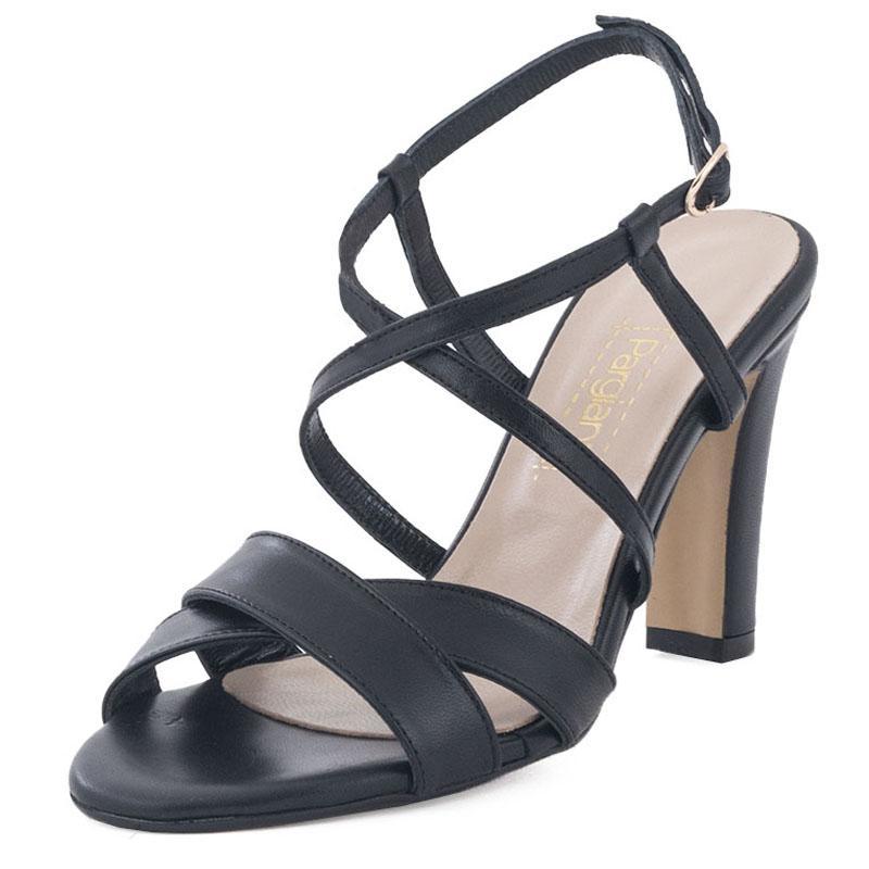 E-shoes Γυναικεία Πέδιλα Pargiana (PGS800-18 Black) 09707f76965