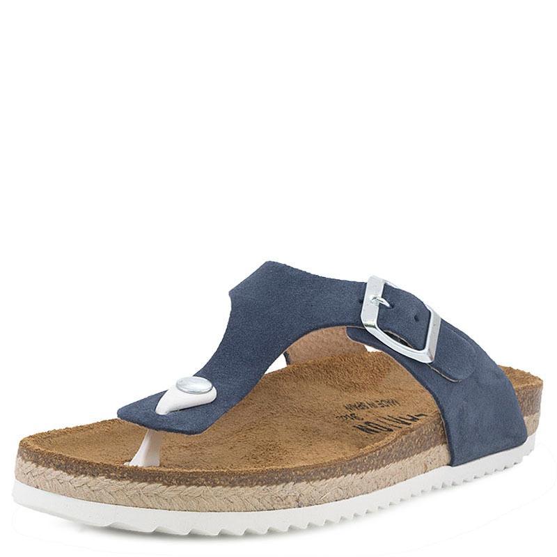 E-shoes Γυναικείες Σαγιονάρες Plakton (471671 Blue) 907a6b69684