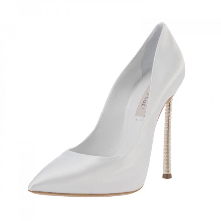E-shoes Γυναικείες Γόβες Casadei (DPERS900 White) d411b53c1af