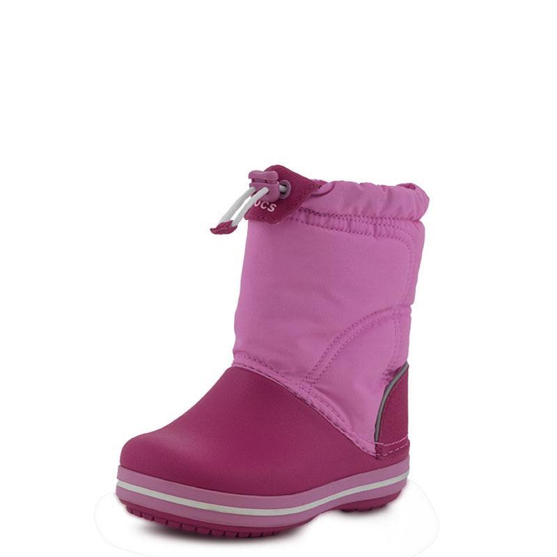 5d2cbac8dd5 Crocband LodgePoint Boot K Crocs (203509 Fuchsia)