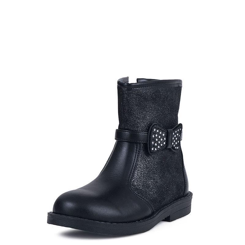 5ae3603dab1 E-shoes Παιδικά Μποτάκια RS (RS051 Black)