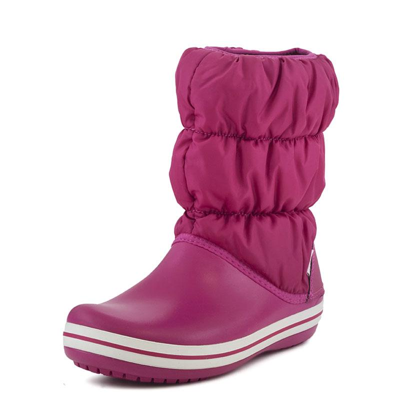 0e42a73eb1d E-shoes Winter Puff Boot W Crocs (14614 Berry)